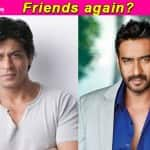 Animosity between Shah Rukh Khan and Ajay Devgn ends!