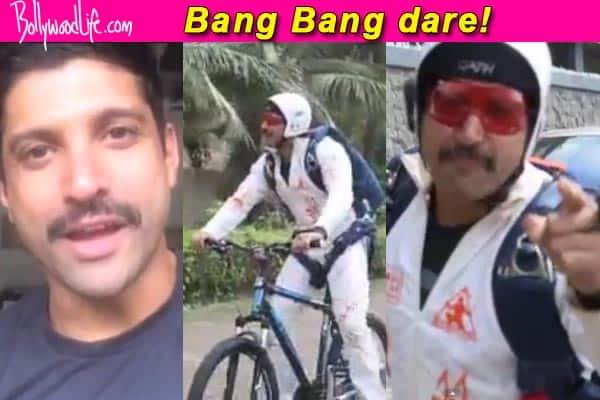 After Shah Rukh Khan, Ranveer Singh and Priyanka Chopra, Farhan Akhtar completes Hrithik Roshan's Bang Bangdare!