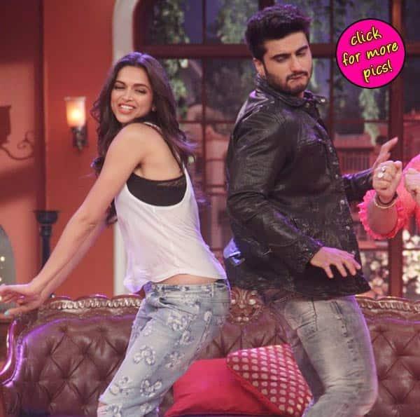 Comedy Nights with Kapil: Arjun Kapoor and Deepika Padukone shake their bootiya on Kapil Sharma's show!