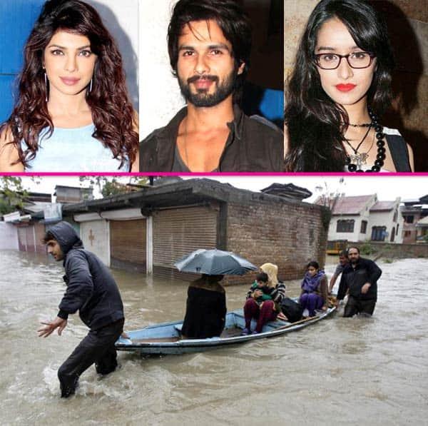 Story Of A Kashmiri S Girl By: Jammu And Kashmir Floods: Priyanka Chopra, Shahid Kapoor