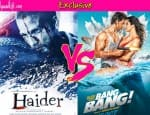 Shahid Kapoor's Haider or Hrithik Roshan's Bang Bang – which film are you excited for?Vote!