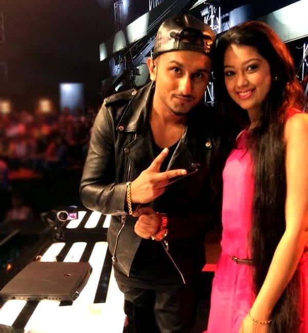 What happened when Digangana Suryavanshi met Yo Yo Honey Singh?