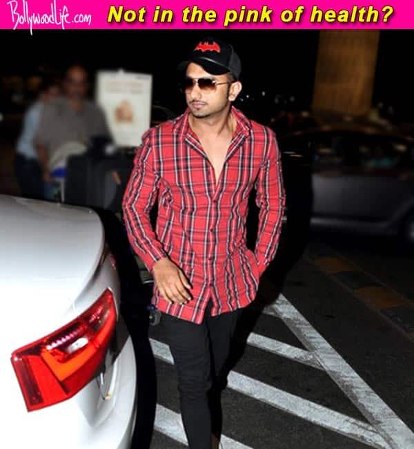 Yo Yo Honey Singh ill, claim reports!