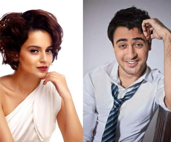 After Amitabh Bachchan and Deepika Padukone, Kangana Ranaut and Imran Khan to have workshops!