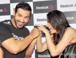 John Abraham and Nargis Fakhri's fun moments at a launch event – View pics!