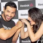 John Abraham and Nargis Fakhri's fun moments at a launch event - View pics!