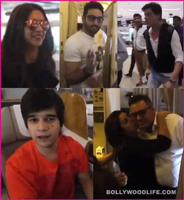 SLAM! The Tour: Watch Shah Rukh Khan, Deepika Padukone and the Happy New Year team's exciting journey from Mumbai to Houston!