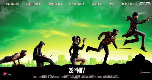 Ungli motion poster: Emraan Hashmi, Randeep Hooda, Sanjay Dutt, Kangana Ranaut set to sizzle in Karan Johar next!