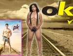 After Aamir Khan's PK poster, here's Poonam Rai's OK poster!