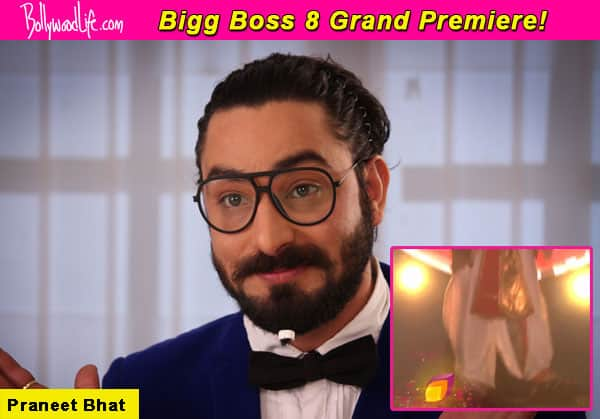 Bigg Boss 8 grand premiere: Salman Khan welcomes Praneet Bhat aka Shakuni mama – Watch video!