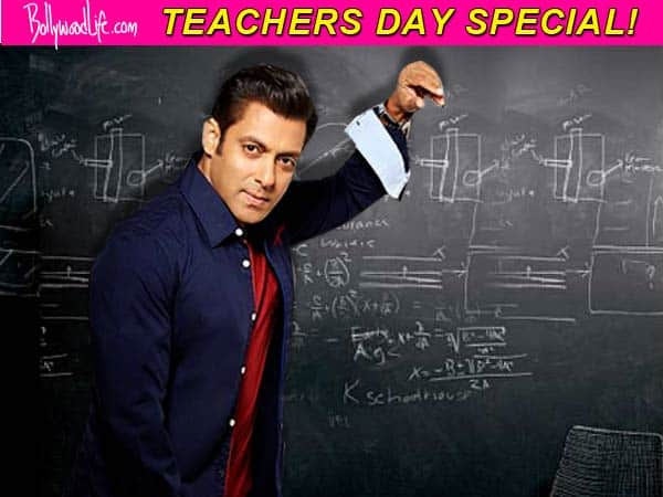 Here's why Salman Khan is the teacher of the year…