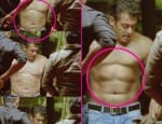 Salman Khan's six-pack abs fake?