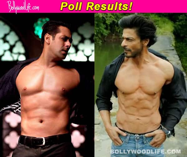Shah Rukh Khan is not copying Salman Khan by going shirtless, say fans!