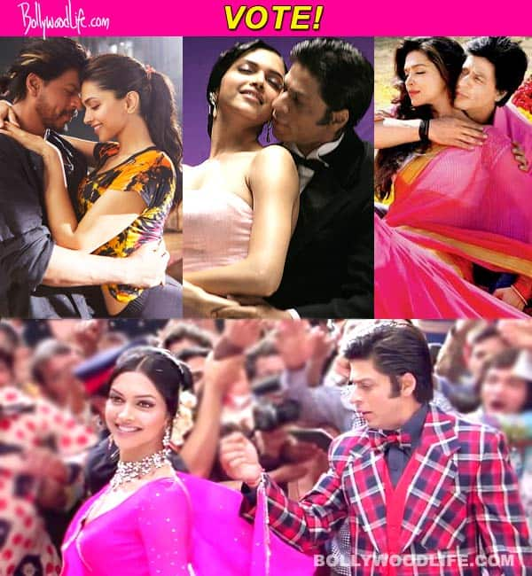 Which is your favourite romantic number picturised on Shah Rukh Khan and Deepika Padukone? Vote!