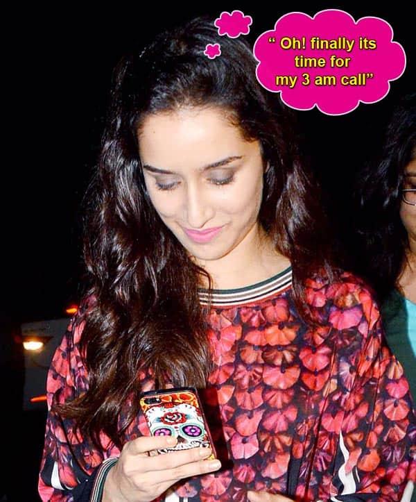 Guess whose text made Shraddha Kapoor smile! - Bollywoodlife.com