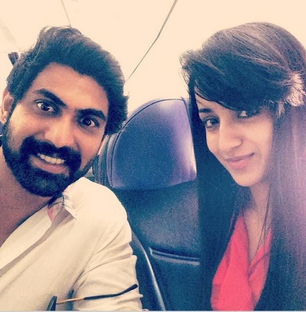Trisha Krishnan-Rana Daggubati's selfie sparks dating rumours!