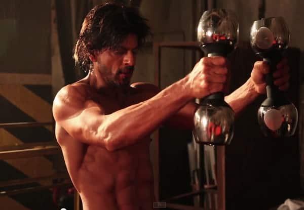 Shah Rukh Khan completes Hrithik Roshan's Bang Bang dare like a boss!