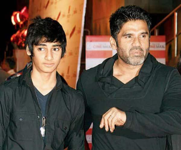 After Athiya Shetty, Salman Khan to launch Suniel Shetty's son Ahaan!