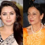 Tanuja: I wasn't invited to Rani Mukerji's wedding!