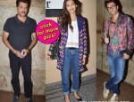 Sonam Kapoor's daddy Anil Kapoor arranges for a special screening of Khoobsurat- View pics!