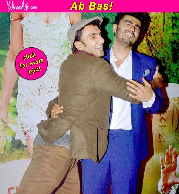 Ranveer Singh and Arjun Kapoor, ab bas bhi karo!