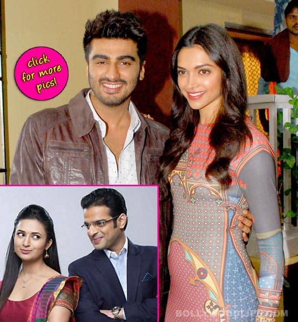 Yeh Hai Mohabbatein: Finding Fanny actors Deepika Padukone and Arjun Kapoor visit Raman and Ishita-view pics!