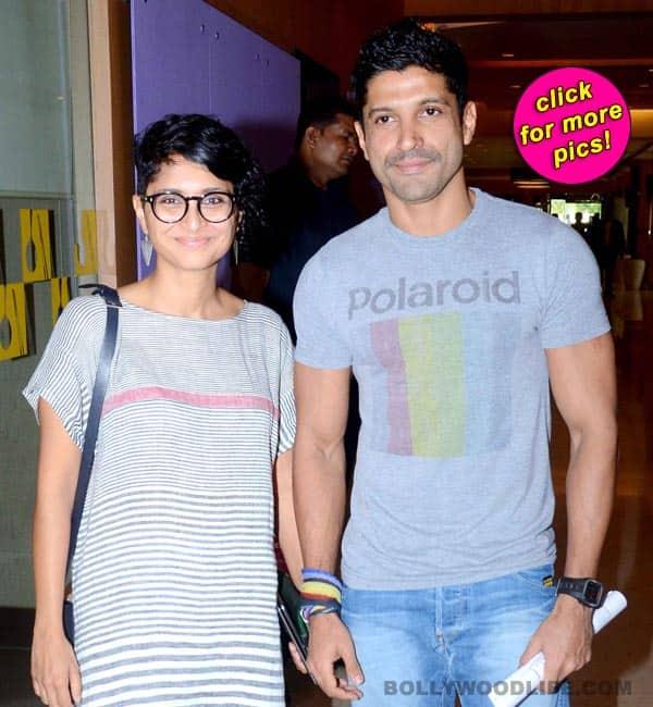 Farhan Akhtar and Kiran Rao launch the 16th Mumbai Film Festival-view pics!