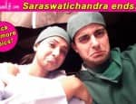 Gautam Rode bids the cast and crew of Saraswatichandra goodbye – Viewpics!