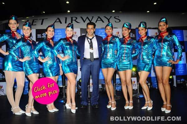 Salman Khan launches Bigg Boss 8 with a bang – View pics!