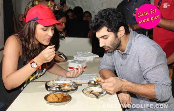 Parineeti Chopra and Aditya Roy Kapur's Daawat-e-Ishq food yatra begins – View pics!