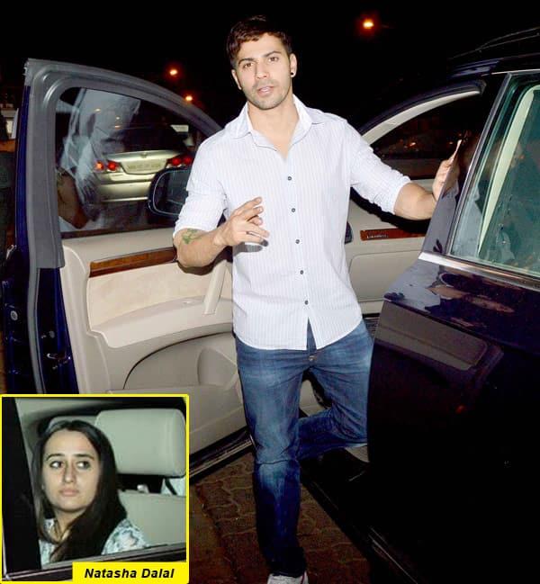 Scoop: Varun Dhawan makes it official with girlfriend Natasha Dalal!