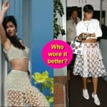 Katrina Kaif or Rihanna: Who looks sexier in a sheer lace skirt?