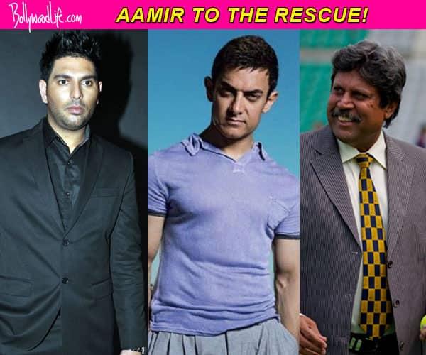 Aamir Khan rescues Yuvraj Singh and Kapil Dev!
