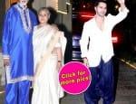 Hrithik Roshan, Sonam Kapoor, Varun Dhawan, Sonakshi Sinha attend Amitabh Bachchan's Diwali party – viewpics!