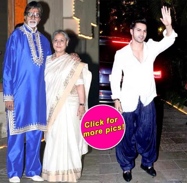 Hrithik Roshan, Sonam Kapoor, Varun Dhawan, Sonakshi Sinha attend Amitabh Bachchan's Diwali party – view pics!