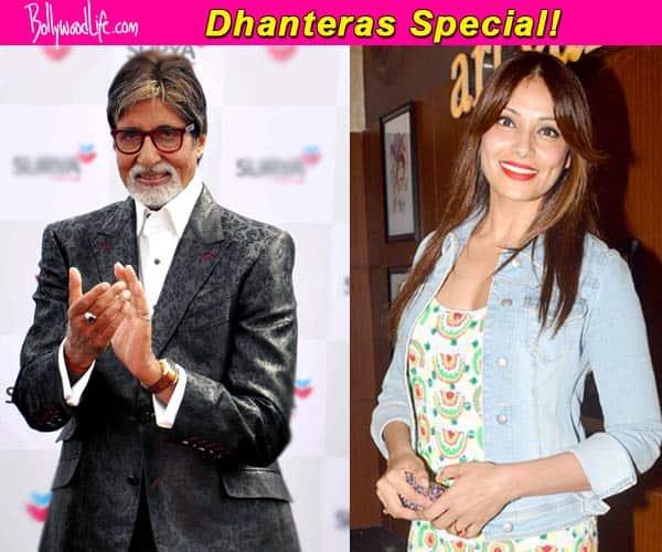 Amitabh Bachchan, Bipasha Basu wish fans on Dhanteras!
