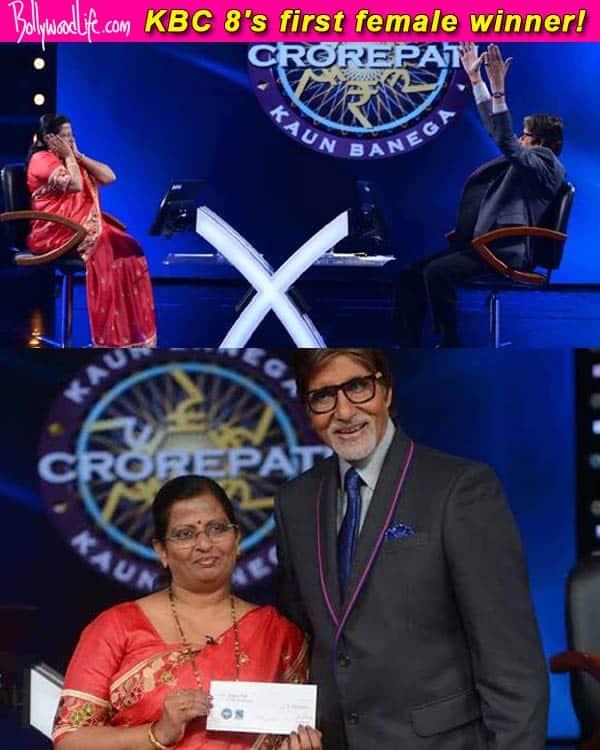 Amitabh Bachchan's Kaun Banega Crorepati 8 gets its first female winner