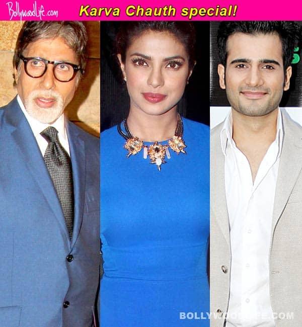 Amitabh Bachchan, Priyanka Chopra, Karan Takcer among other stars wish fans Happy Karva Chauth on Twitter!