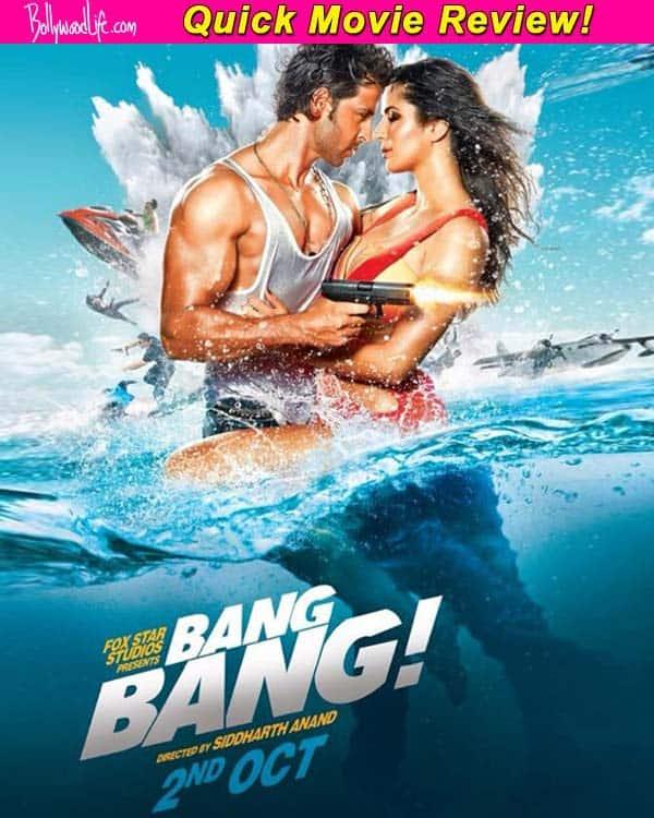 Bang Bang quick movie review: Hrithik Roshan and Katrina Kaif's film starts with a bang!