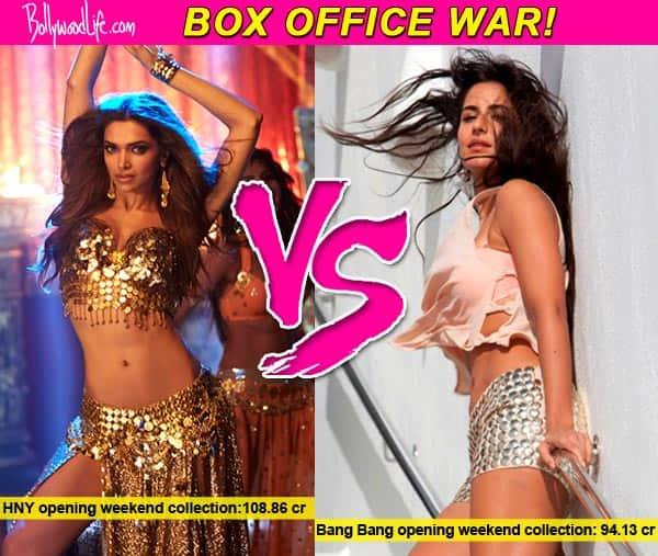 Box office battle: Deepika Padukone races ahead of Katrina Kaif, retains numero uno position!