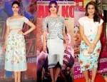 Deepika Padukone, Priyanka Chopra, Parineeti Chopra- who rocks the high waist skirt more? Vote!