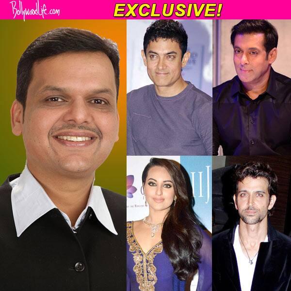 Aamir Khan, Sonakshi Sinha, Salman Khan and Hrithik Roshan to attend Devendra Fadnavis' swearing in ceremony!