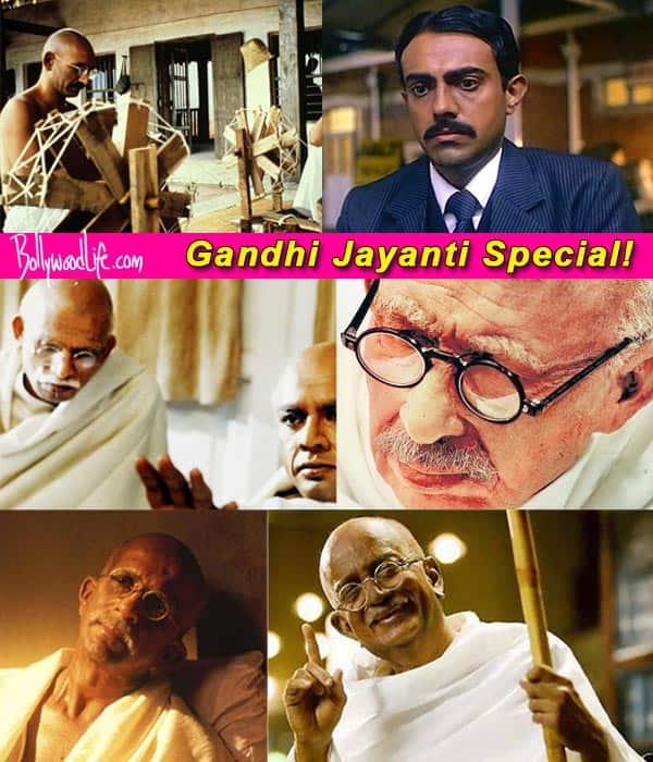 Gandhi Jayanti special: Bollywood portrayals of Mahatma Gandhi!