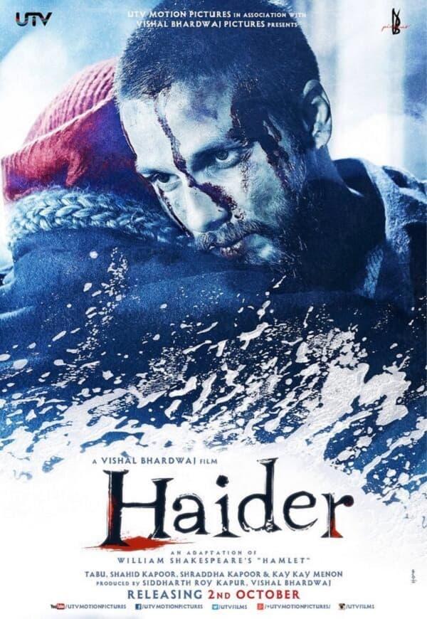 Shahid Kapoor's Haider wins People's Choice Award at Rome Film Festival!