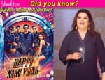 Did you know…Shah Rukh Khan's Happy New Year was supposed to be Farah Khan's next post Main Hoon Na?