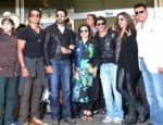 Shah Rukh Khan, Deepika Padukone and Abhishek Bachchan back in the city after SLAM! The Tour