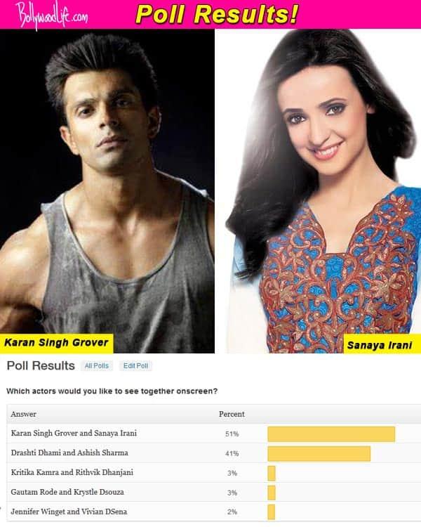 Karan Singh Grover and Sanaya Irani should be together, think fans!