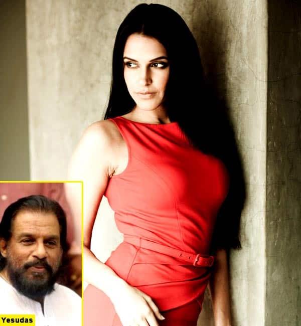 Neha Dhupia blasts KJ Yesudas for regressive remarks on women's apparel!