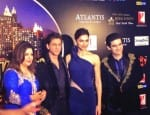 Shah Rukh Khan and Deepika Padukone at the Happy New Year premier in Dubai- Viewpics!