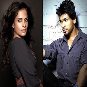 Tamanchey actors Richa Chadda and Nikhil Dwivedi in a cold war